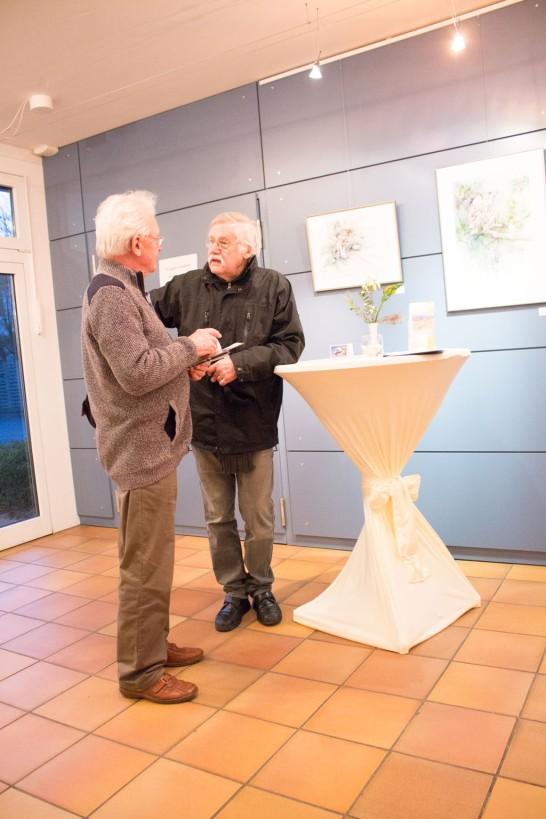 Jürgen Falkenberg im Interview für die Ostsee Zeitung (c) Frank Koebsch